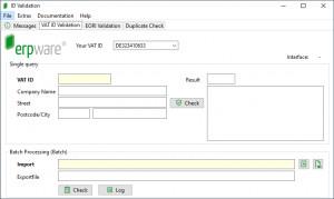 ID Validation - náhled