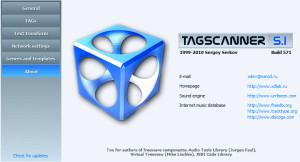 TagScanner - náhled
