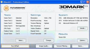 3DMark - náhled