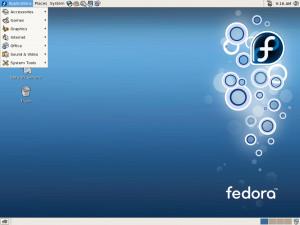 Fedora - náhled