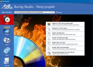 Asoftis Burning Studio - náhled