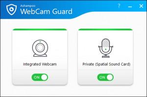 Ashampoo WebCam Guard - náhled