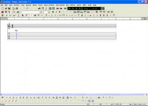 Power Tab Editor - náhled