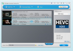 Free HD Video Converter Factory - náhled