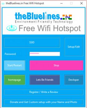 Free WiFi Hotspot - náhled
