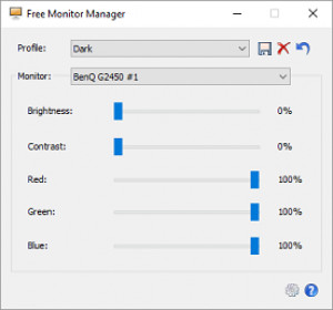 Free Monitor Manager - náhled