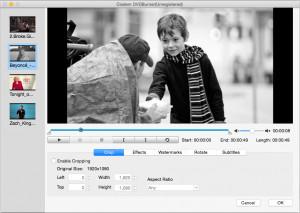 Cisdem DVDBurner - náhled