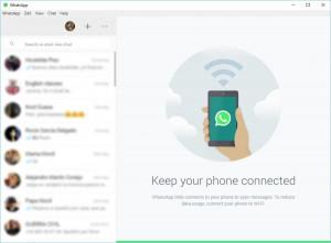 WhatsApp Desktop - náhled