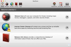 MacScan - náhled