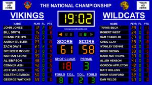 Basketball Scoreboard Premier - náhled