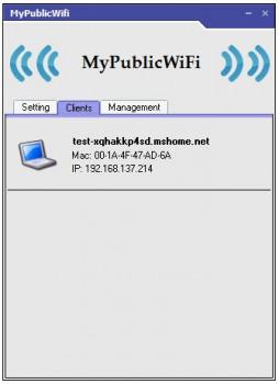 MyPublicWiFi - náhled