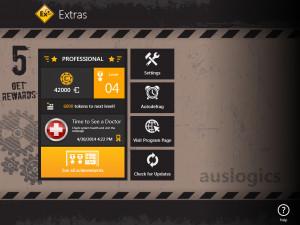 Auslogics Disk Defrag Touch - náhled