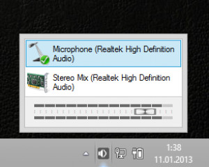 AudioSwitch - náhled