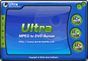 Ultra MPEG to DVD Burner - náhled