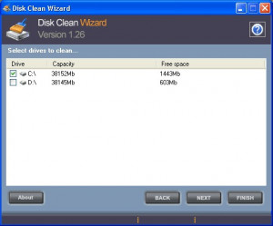 Disk Clean Wizard - náhled