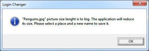 Windows 7 Login Changer - náhled