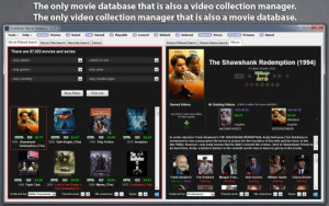 Coollector Movie Database - náhled