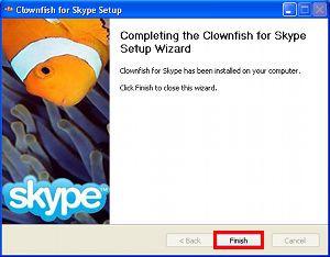 Clownfish for Skype - náhled