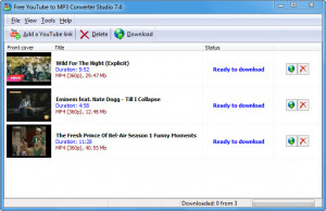 Free YouTube to MP3 Converter Studio - náhled