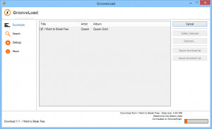 GrooveLoad - náhled