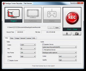 Readygo Screen Recorder - náhled