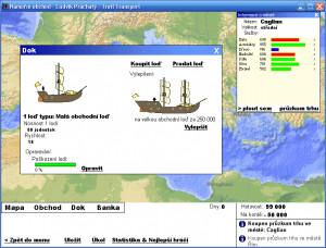 Námořní obchod - náhled