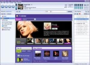Yahoo! Music Jukebox - náhled