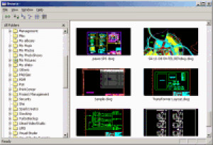 DWGSee DWG Viewer - náhled