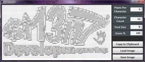 Image ASCII Art - náhled