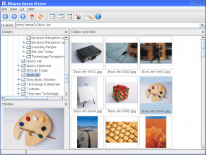 Ekspos Image Viewer - náhled