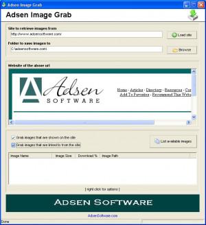 Adsen Image Grab - náhled