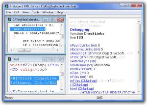 XML Editor - náhled