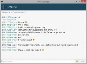 WinT Messenger  - náhled
