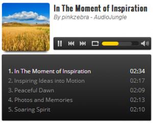 Amazing Audio Player  - náhled