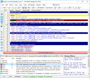 CSS HTML Validator Pro - náhled