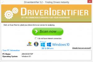 DriverIdentifier - náhled