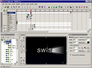 SWiSH - náhled