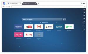 UR browser - náhled