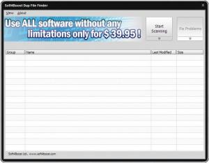 Soft4Boost Dup File Finder - náhled