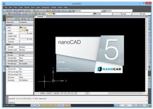 nanoCAD - náhled