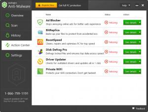 Auslogics Anti-Malware - náhled