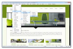 GrafX Website Studio - náhled