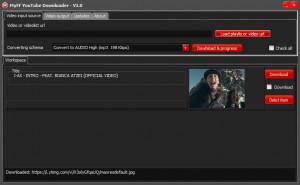 MyFF Youtube Downloader - náhled