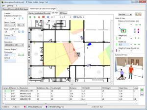 IP Video System Design Tool - náhled