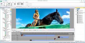 VSDC Video Editor - náhled