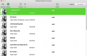 Ondesoft Spotify Converter - náhled