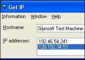 Get IP Adress - náhled