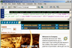 Macromedia Dreamweaver - náhled