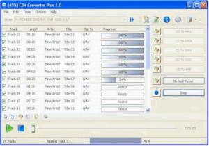 CDA Converter Plus - náhled