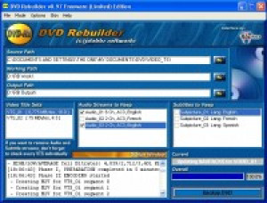 DVD Rebuilder - náhled